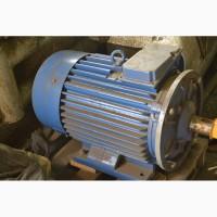 Электродвигатели 7, 5 квт 2960 об/мин, 30 квт 750 об/мин