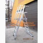 Лестница-платформа телескопическая (ЛП) алюминиевая