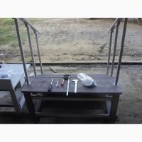Монолитное приставное крыльцо для дачи, беседки, бани, хозяйственного блока