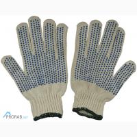 Продам перчатки х/б с пвх и без оптом