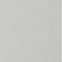 Гипсовиниловые потолочные плиты