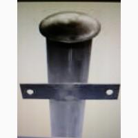 Столбы для сетки с крючками и для профлиста