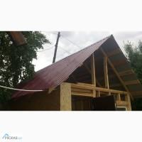 Монтаж крыши, кровельные работы