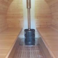 Баня бочка из кавказской липы 6-ти метровая
