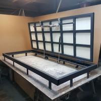 Изготовление люков напольных с подъёмниками, настенных