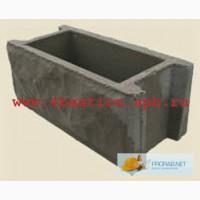 Бетонные заборы производство, заборные блоки, Блок Забора БЗ-40 400*200*165.