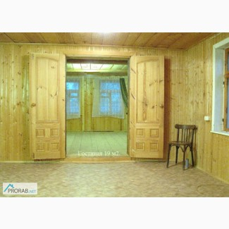 Дом На Вывоз 14.7 Х 6 м. из бревна ели в Твери