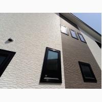 Декоративная отделка фасадов (барашек, короед, дождик)