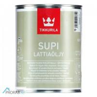 Супи масло для пола - Supi Lattiaolju 0, 9л Tikkurila (Финляндия)