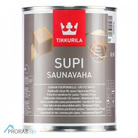 Supi Saunavaha - Супи Саунаваха воск 0, 9л Tikkurila (Финляндия)