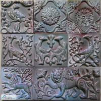 Изразцы ручной работы Хамелеон