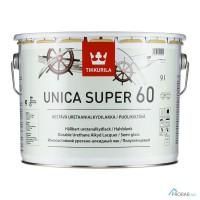 Unica Super 60 - Уника Супер, полуглянцевый лак 9л Tikkurila (Финляндия)