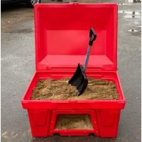 Ящики для песка пожарные, для соли, реагентов, химикатов