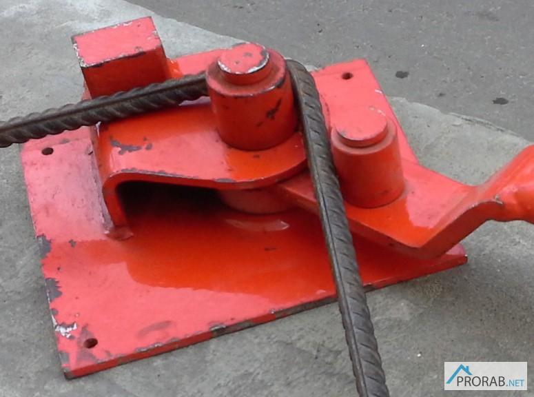 Ручные станки для гибки арматуры 6-22 в Москве.