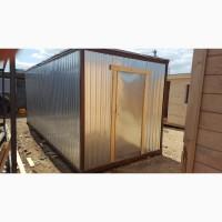 Изготавливаем блок контейнера (бытовки строительные)