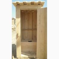 Деревянный туалет для дома и дачи