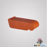 Керамический подоконник Lode маленький красный, 225*60*88 мм