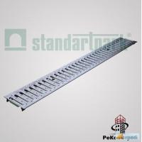 Системы поверхностного водоотвода Решетка водоприемная Basic РВ-10.14.100-К-штампованн ая