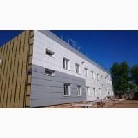 В СПб. выполним монтаж вентилируемых фасадных систем, свето прозрачны фас.конструкций