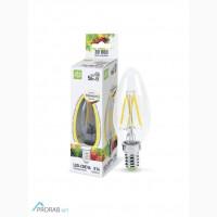Лампа светодиодная LED-СВЕЧА-PREMIUM 5Вт прозрачная ASD