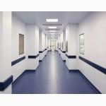 Огнестойкие трудногорючие антибактериальные панели для медицинских помещений и опреблоков