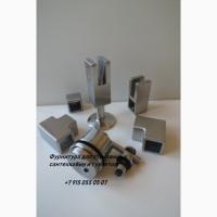 Ножки регулируемые и петли с доводчиков для стеклянных туалетных дверей и сантехкабин