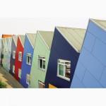 Фасадный морозостойкий hpl пластик, фасадные архитектурные панели для отделки коттеджей