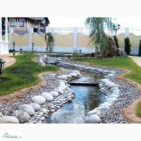 Валун, галька, речной камень, песчаник для ландшафта и отделки