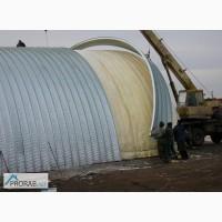 Бескаркасные ангары бескаркасные склады строительство бескаркасных ангаров, Каменск-Шахтин
