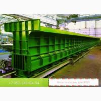 Стенд для изготовления мостовой балки Б 3300, (33 метра)